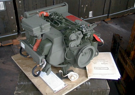 Air Cooled Surplus Gasoline Engine